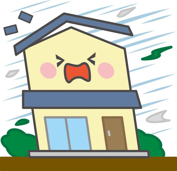 台風後の空き家対策